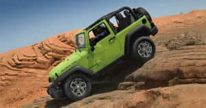 Lime Green 2017 Jeep Wrangler