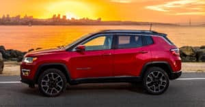Red 2018 Jeep Compass