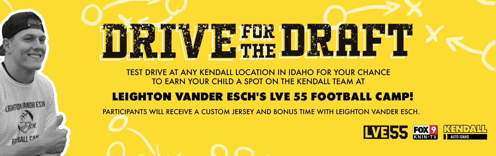 Drive for the Draft - NFL Linebacker Leighton Vander Esch's Football Camp