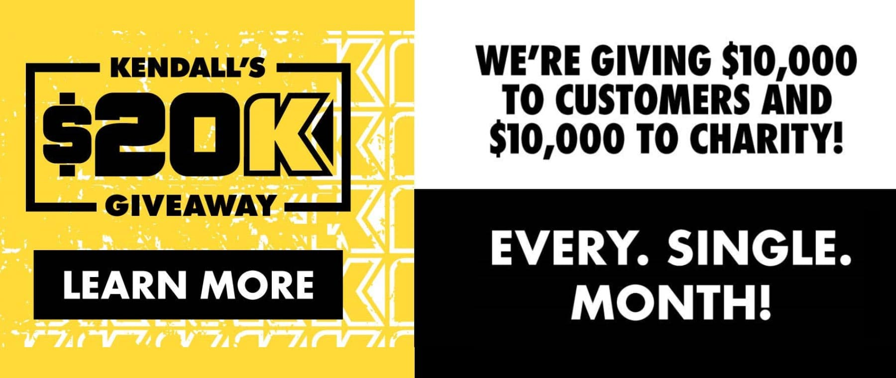 kendall $20k giveaway