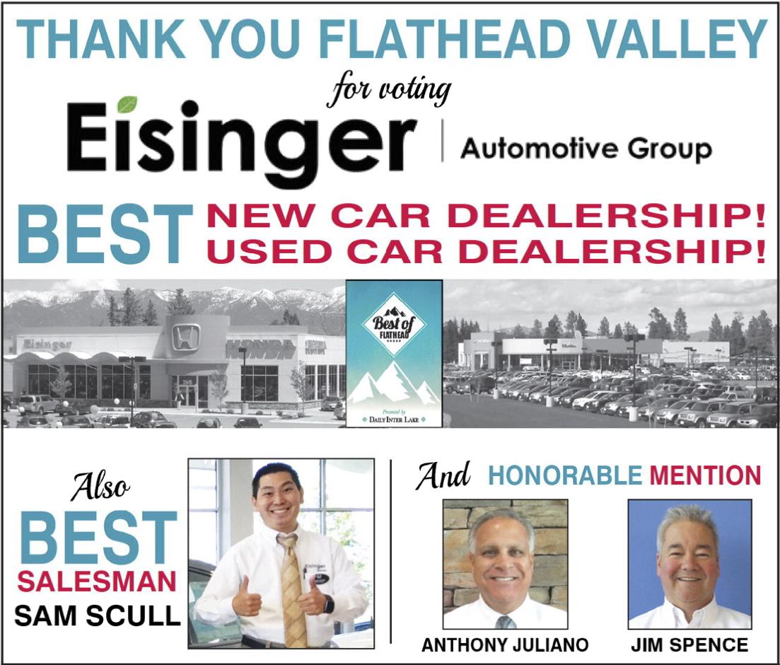 Best of Flathead Eisinger Banner