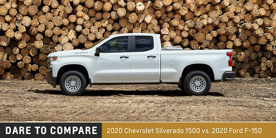 2020 Chevrolet Silverado 1500 vs. 2020 Ford F-150 - El Dorado Chevrolet in McKinney, Texas