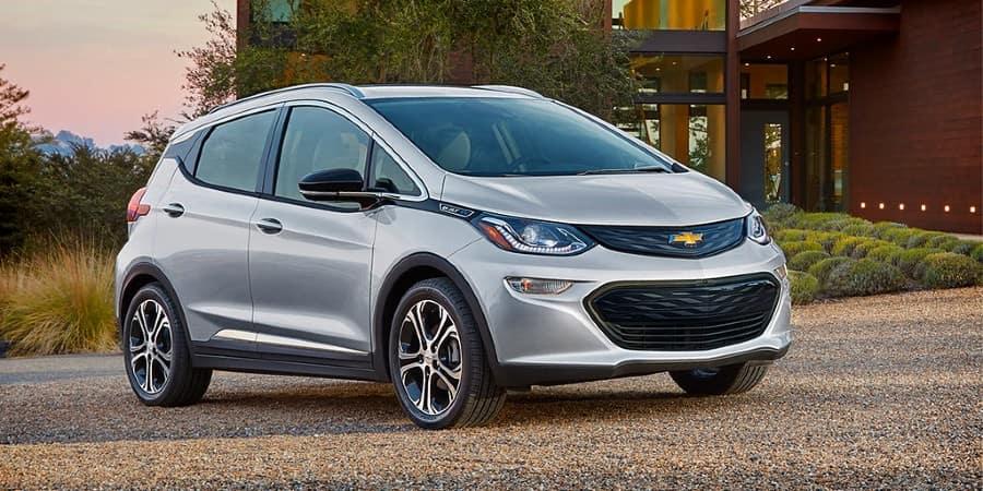 A silver 2020 Chevrolet Bolt EV - El Dorado Chevrolet in McKinney, Texas