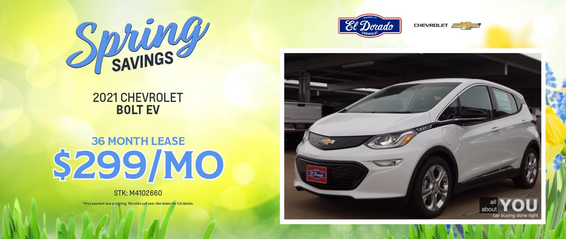 2021 Chevrolet Bolt EV Offer - El Dorado Chevrolet in McKinney, Texas