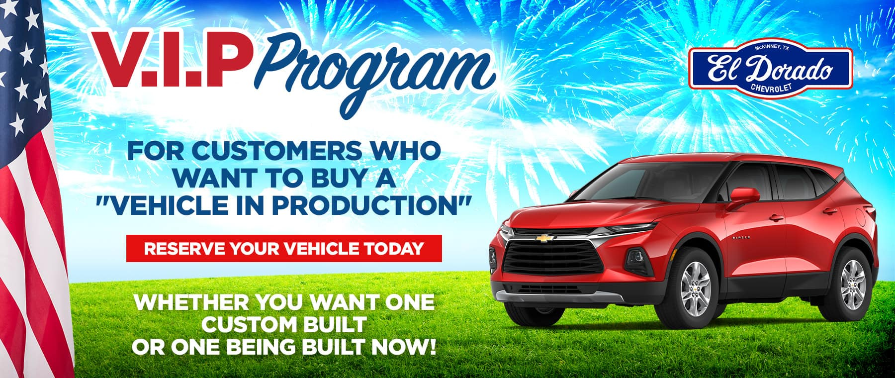 V.I.P. Program - El Dorado Chevrolet in McKinney, Texas
