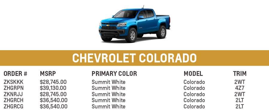 Chevrolet Colorado | El Dorado Chevrolet in McKinney, Texas