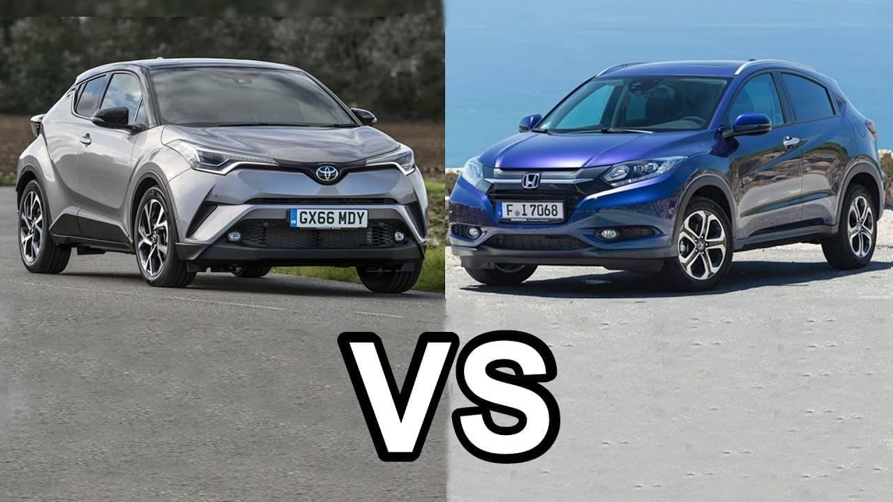 2018 Toyota C-HR vs. 2017 Honda HR-V | Expressway Toyota