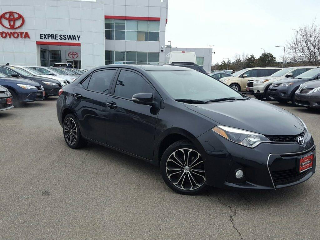Certified 2014 Corolla S Plus with Navigation