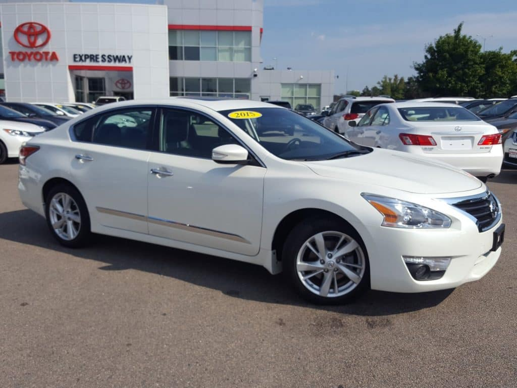 Pre-Owned 2015 Nissan Altima 2.5 SL FWD