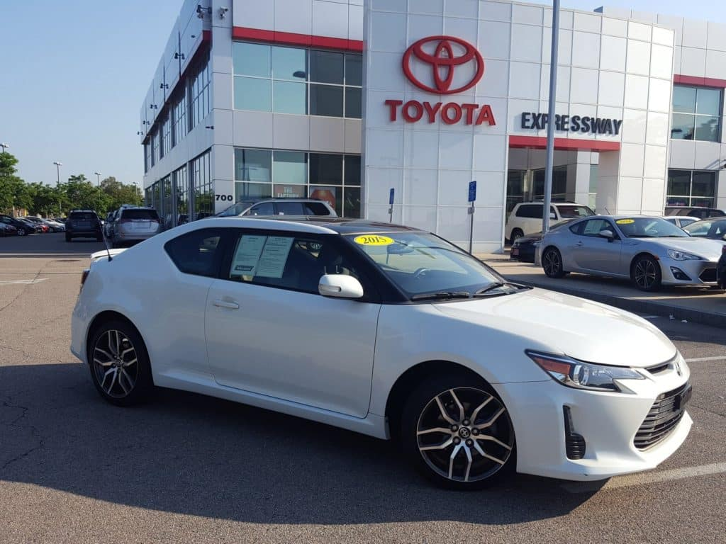 Certified Pre-Owned 2015 Scion tC Release Series FWD