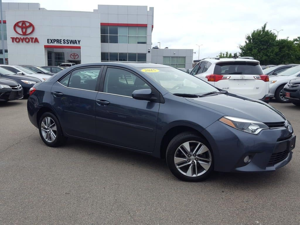 Certified Pre-Owned 2015 Toyota Corolla LE ECO Premium with Navigation