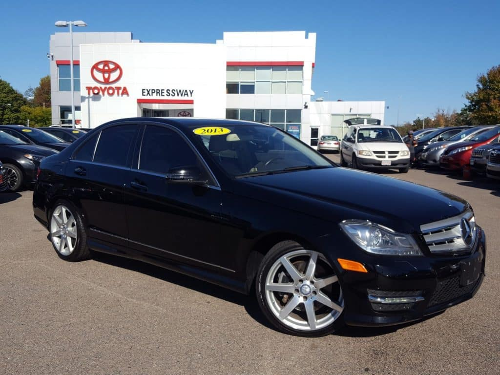 Pre-Owned 2013 Mercedes-Benz C-Class 300 Sport AWD