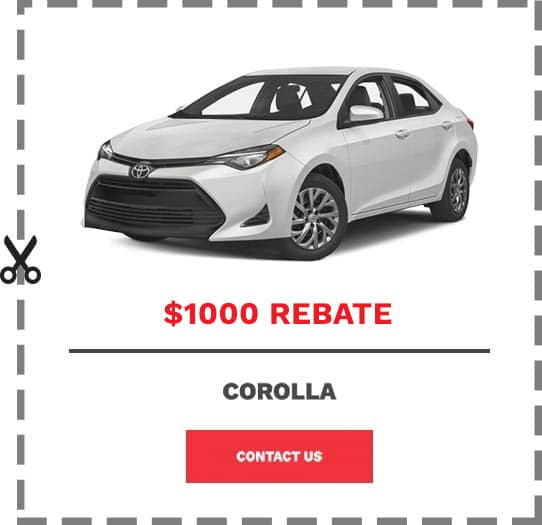 Corolla Coupon Clip