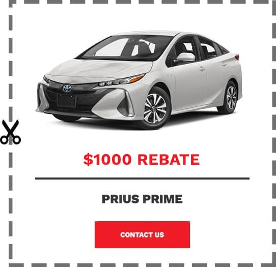 Prius Prime Coupon Clip