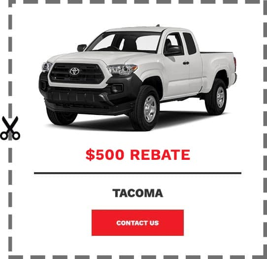 Tacoma Coupon Clip