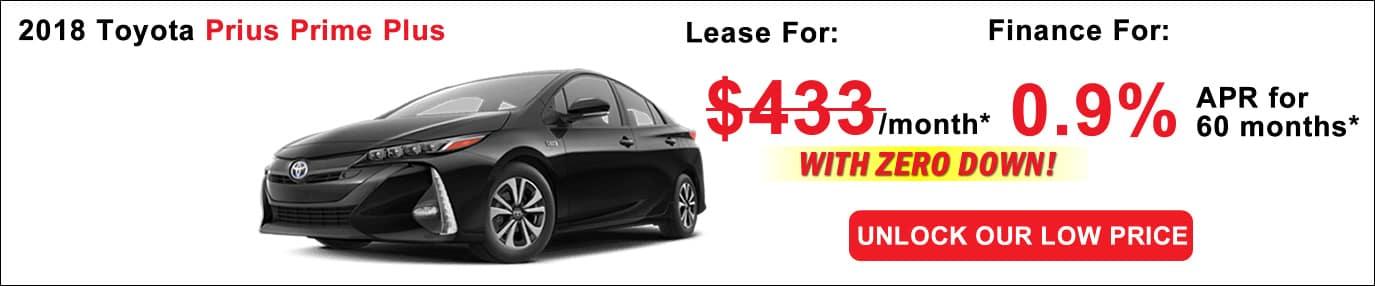 Toyota Prius Prime Lease Deals Boston Ma Toyota Deals