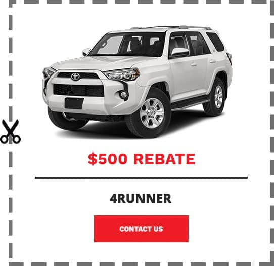 4Runner Coupon Clip