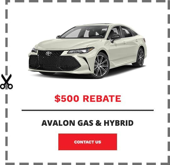 Avalon Coupon Clip