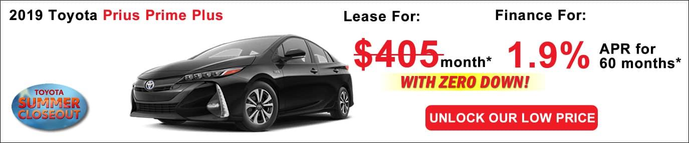 Toyota Lease Deals >> Toyota Prius Prime Lease Deals Boston Ma Toyota Deals
