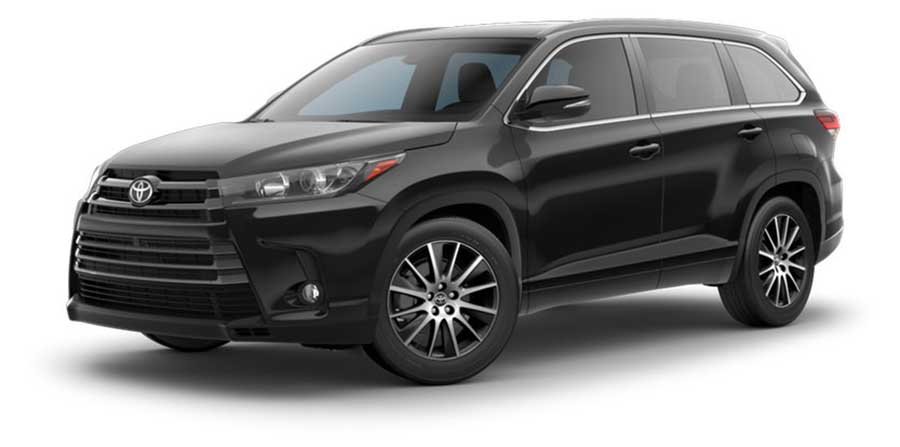 2017 Toyota Highlander Black