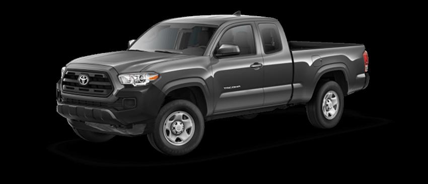2017 Toyota Tacoma Black