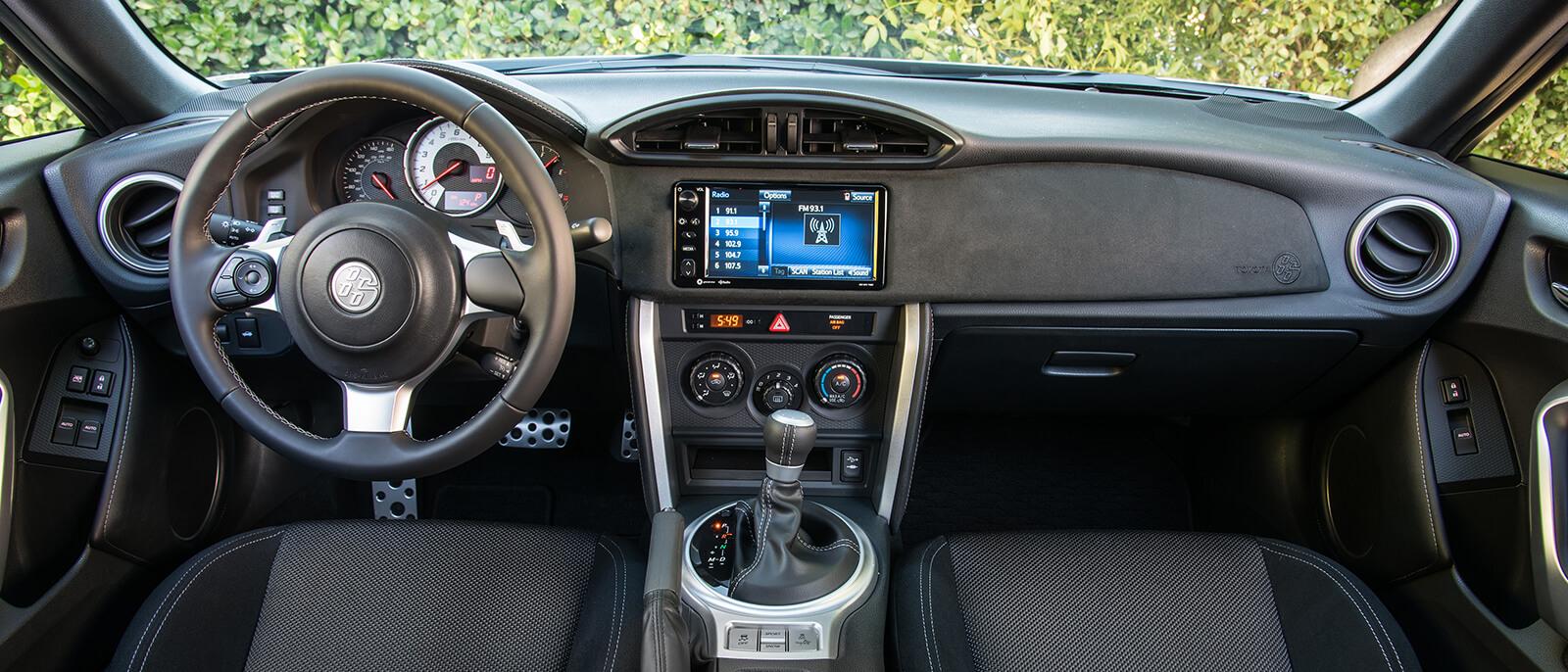 2017 Toyota 86 Interior