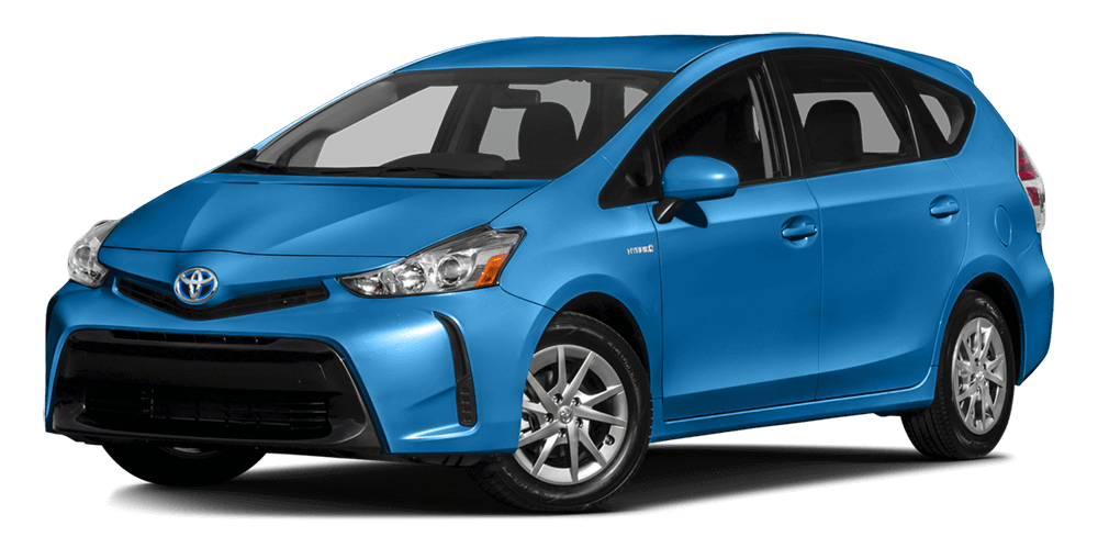 2017-Toyota-Prius-V Blue