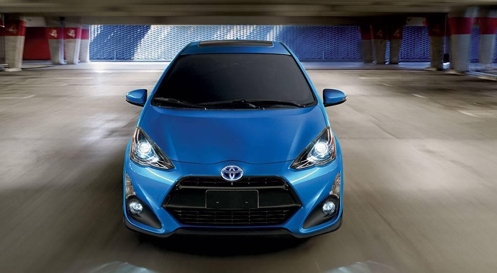 2017 Toyota Prius c exterior