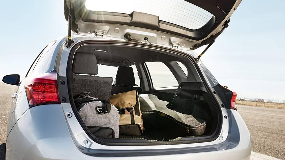 2017 Toyota Corolla iM Trunk Capacity