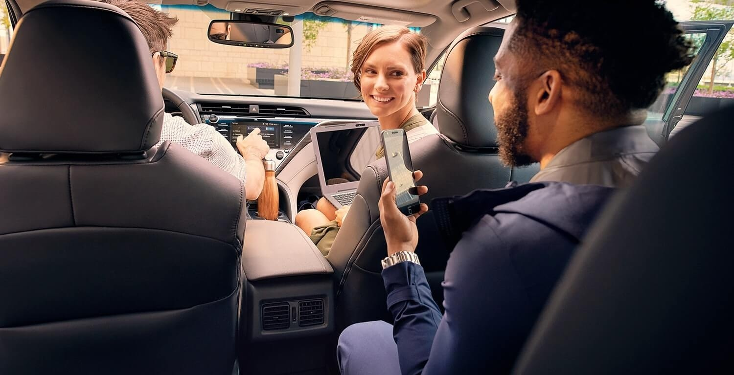 2018 Toyota Camry Dude With Phone
