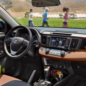 2018 Toyota RAV4 Dashboard