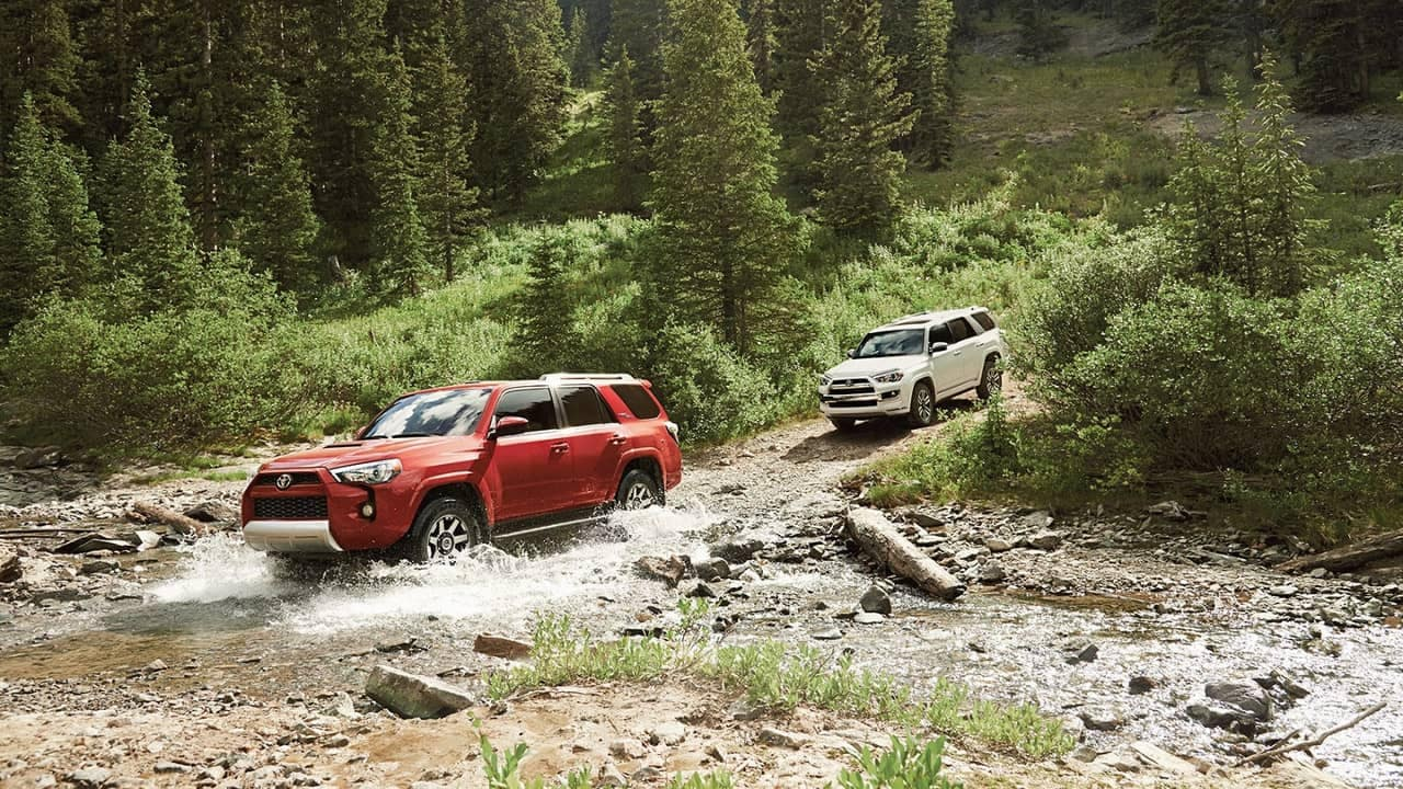 2018 Toyota 4Runner off-roading