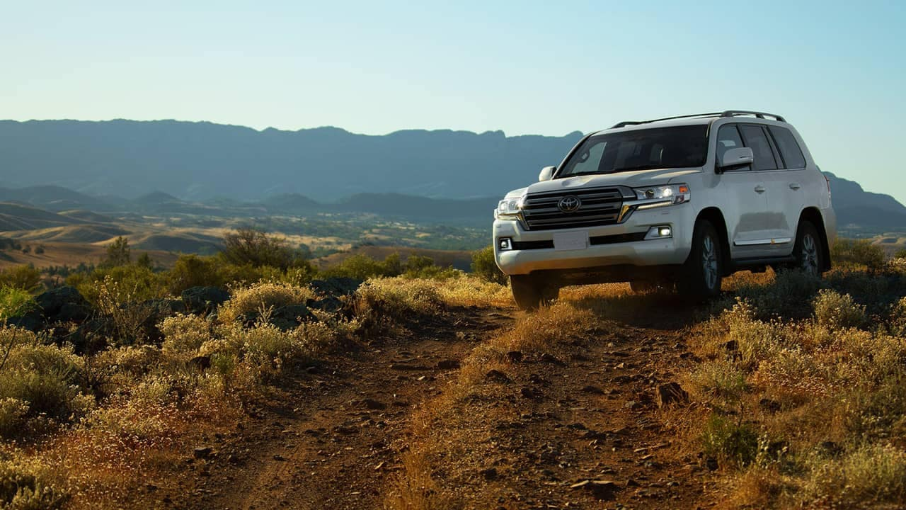 2018 Toyota Land Cruiser off-roading
