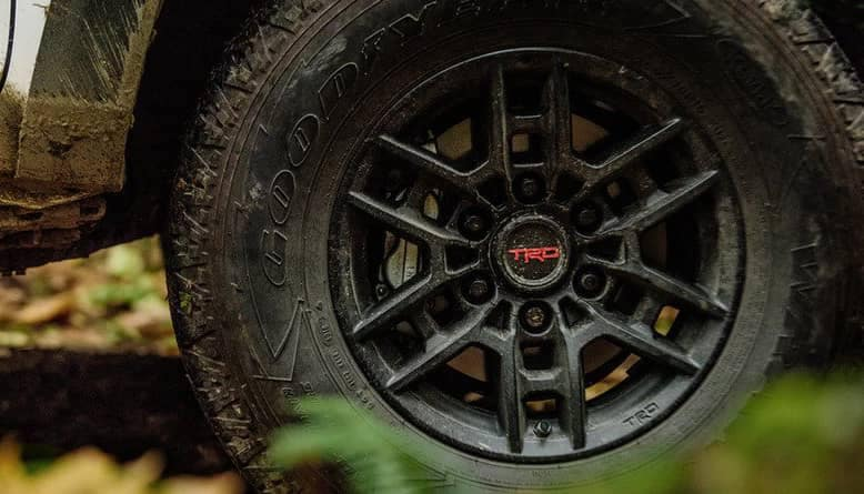 2020 Toyota Tacoma TRD Pro Tire