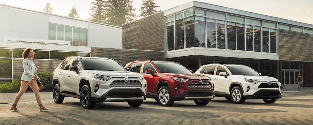 2020 Toyota Rav4 Models