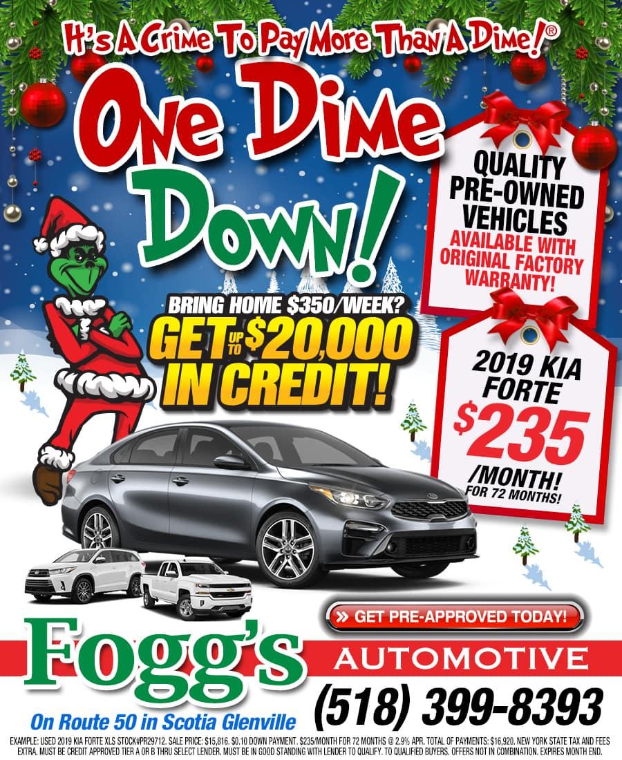 Current Specials at Fogg's Automotive
