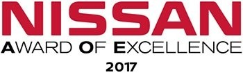 Nissan Award of Excellence Logo