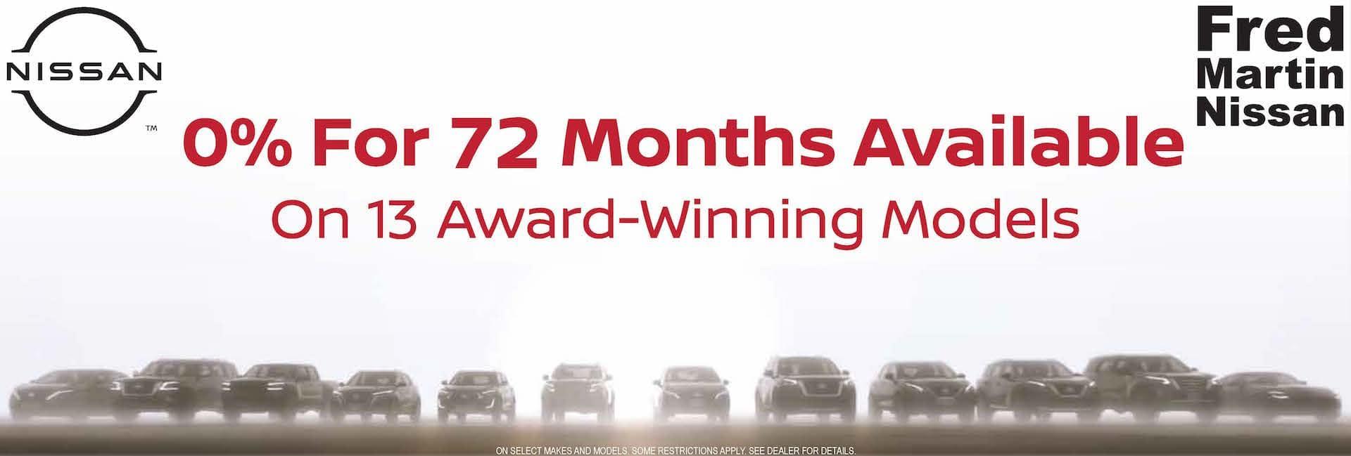 0% for 14 Months 14 Models