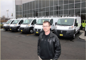 Joe Pekar, Commercial Vehicle Manager for Fred Martin Superstore