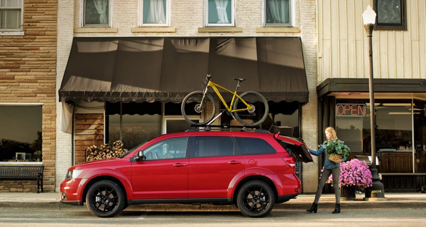 The 2018 Dodge Journey at Fred Martin Superstore