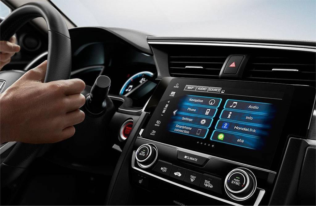 2017 Honda Civic Interior Front