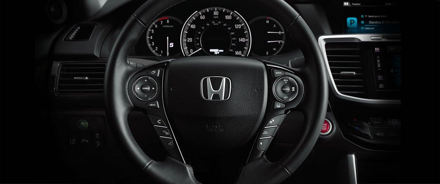 2017 Honda Accord Sedan Sport Interior Steering Wheel