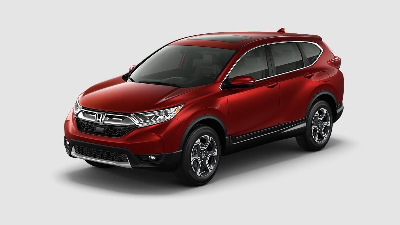 2017 Honda CR-V EX-L Red Front Exterior