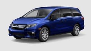 2018 Honda Odyssey Front Exterior