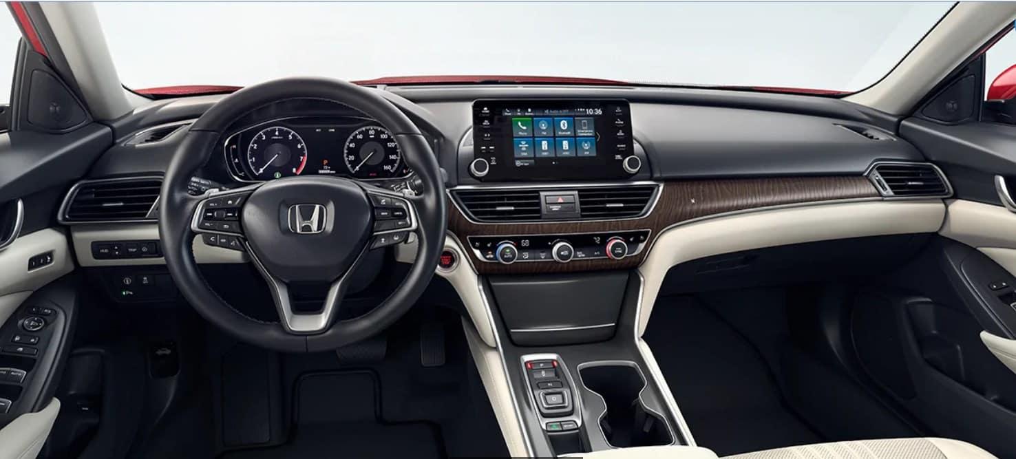 2020 Honda Accord Front Interior Dash Picture