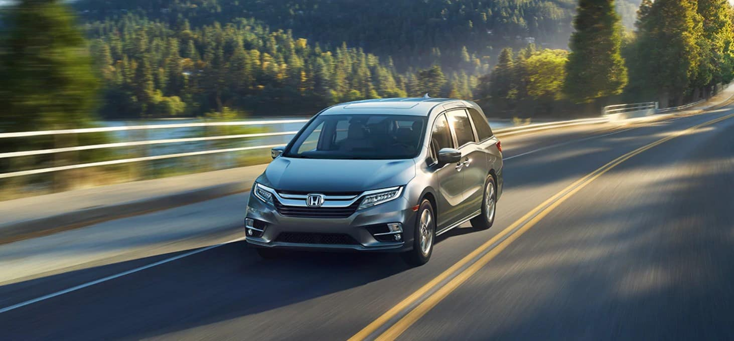 2020 Honda Odyssey Front View Exterior Gray Picture