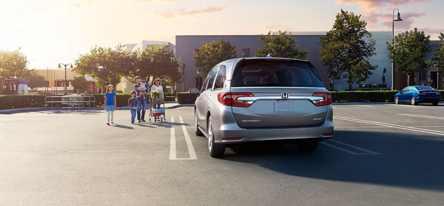 2020 Honda Odyssey Rear View Exterior Silver Picture