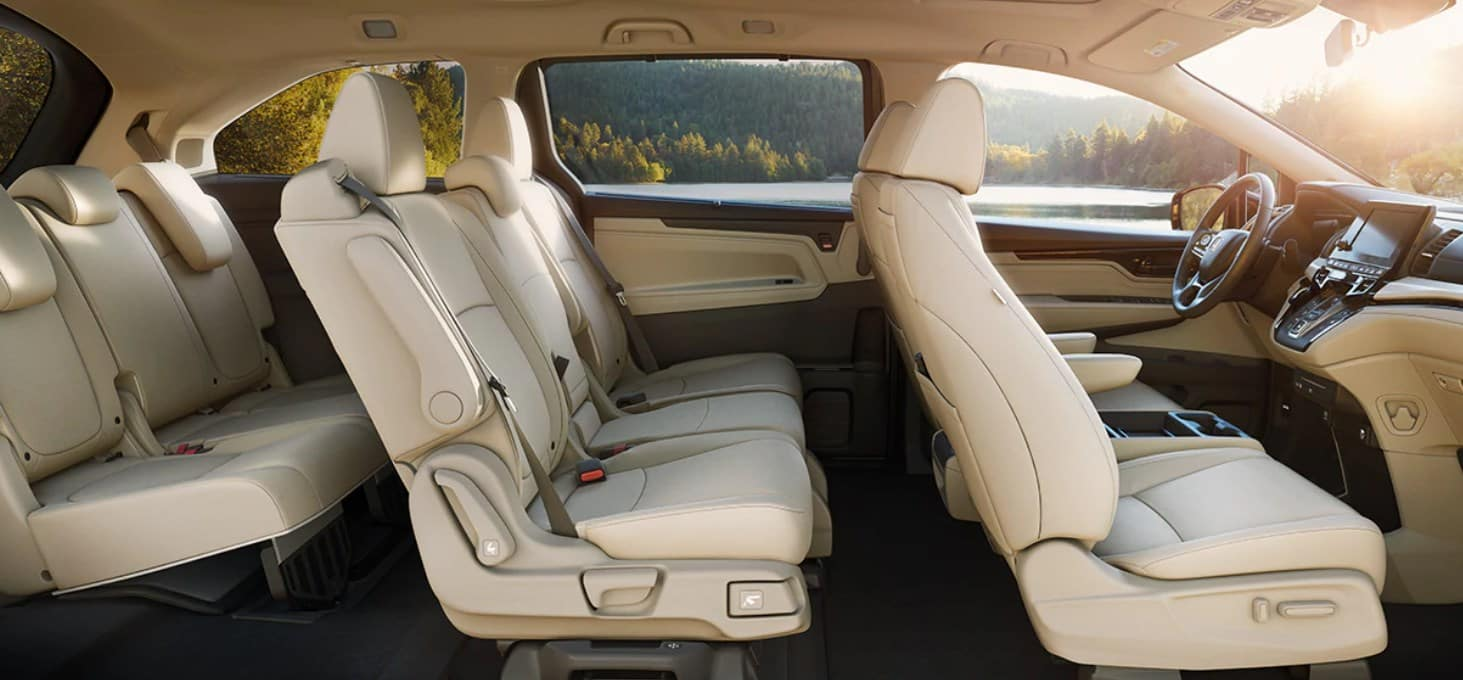 2020 Honda Odyssey Side View Interior Picture