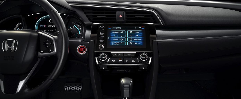 2020 Honda Civic Sedan Front Interior