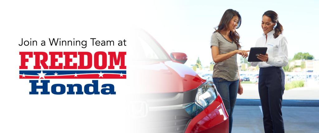 Freedom Honda Careers